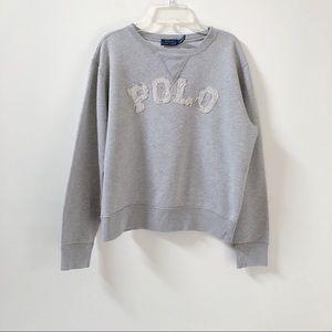 Polo Ralph Lauren | Distressed Pullover Sweatshirt